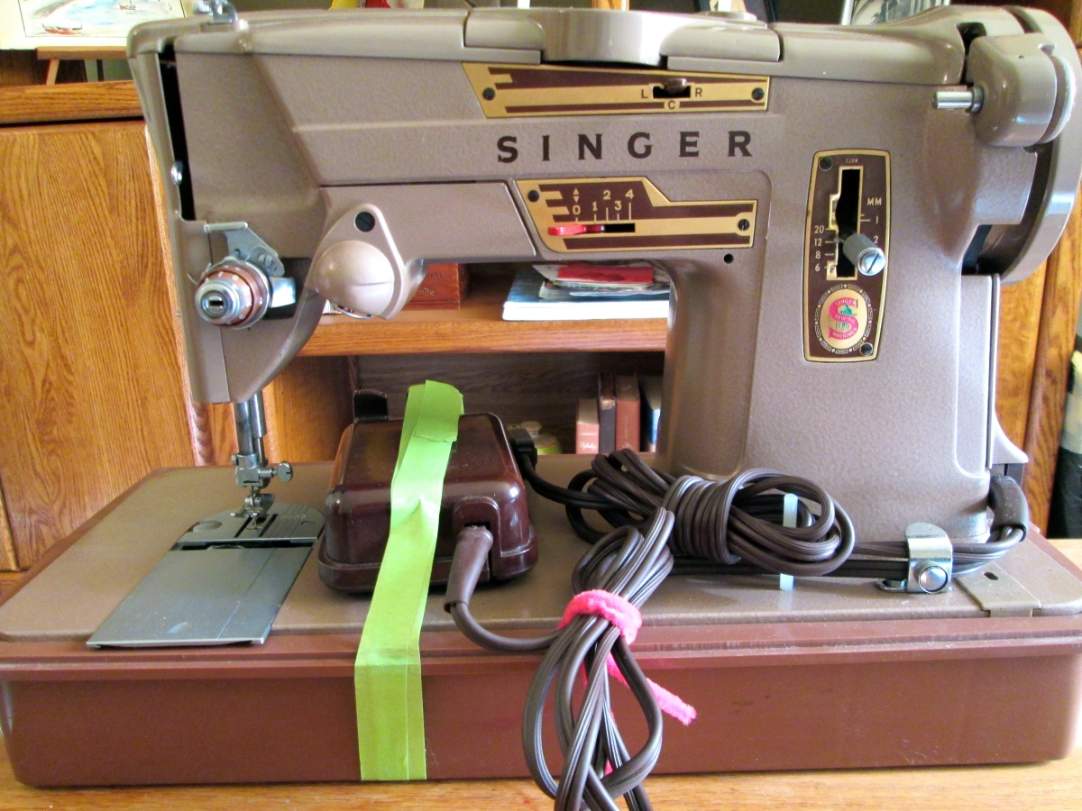 It's Here! My 1960s Singer