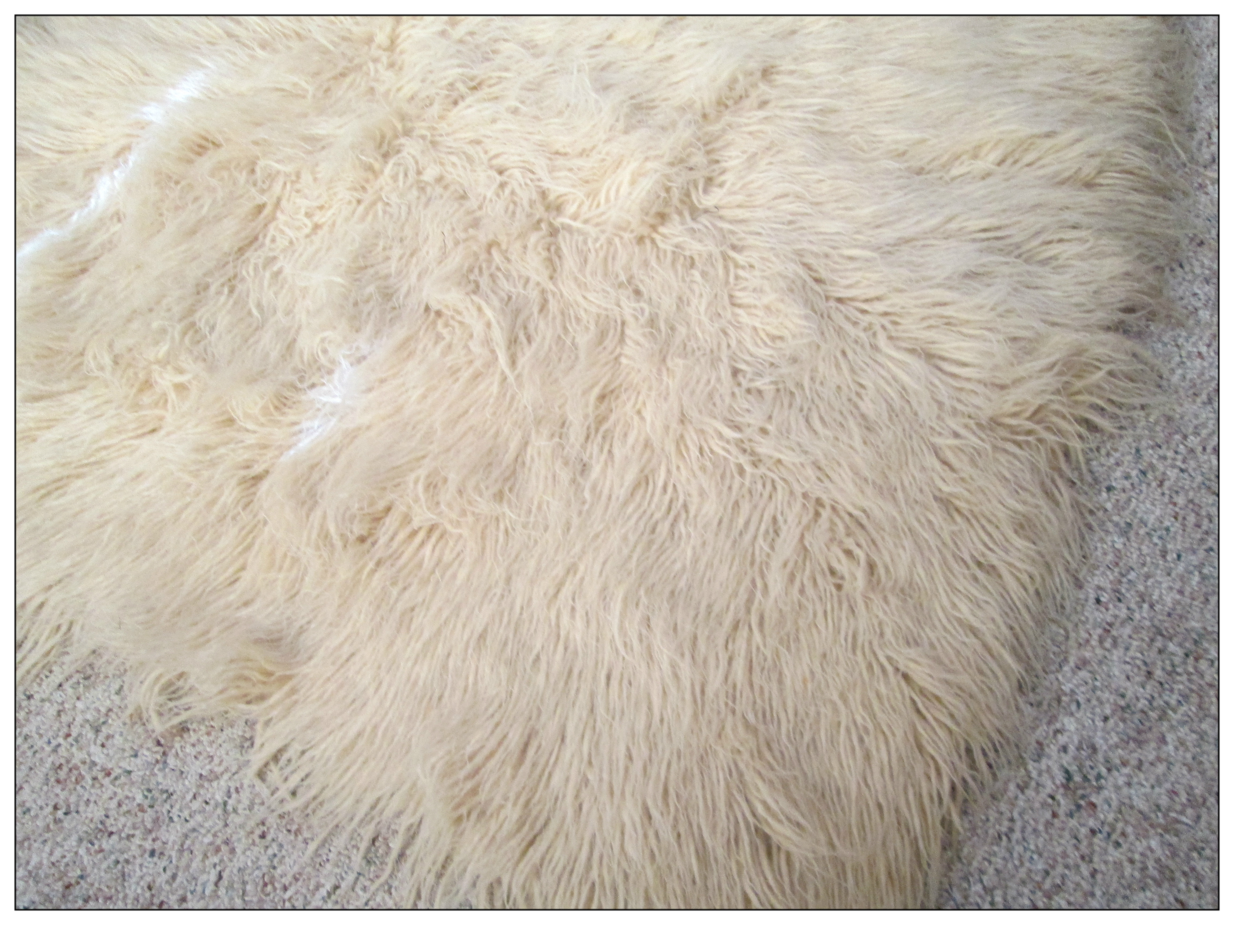 How To Clean A Sheepskin Rug  After