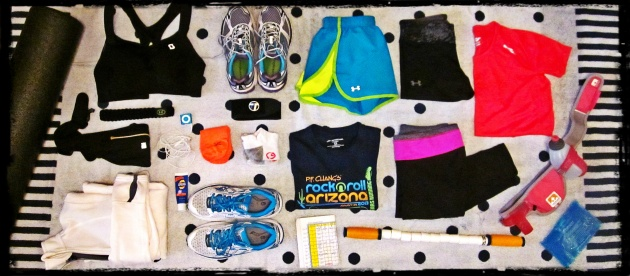 Gearing Up! Marathon Training Gear
