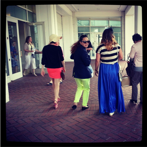 Ladies of the Derby in Neon