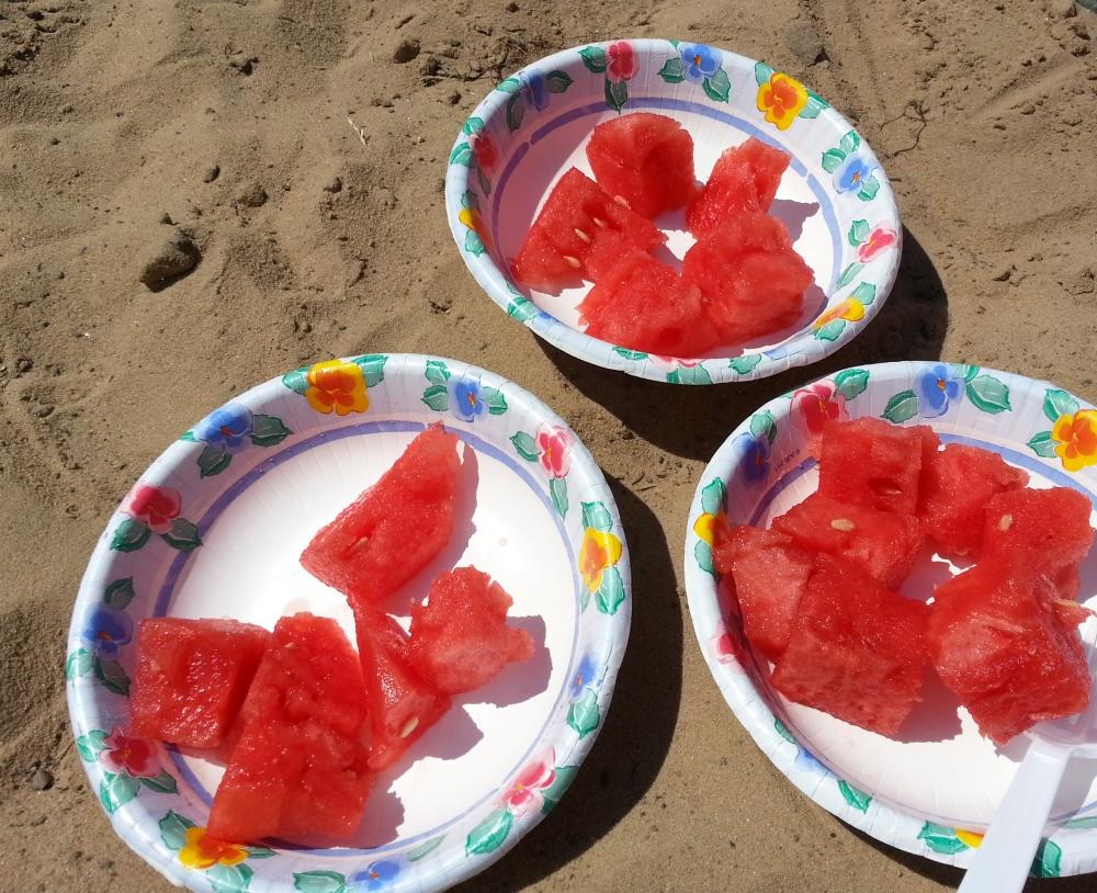 How to Make a Brandy Watermelon