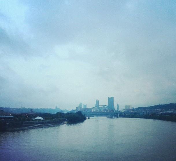 Morning Run in Pittsburgh