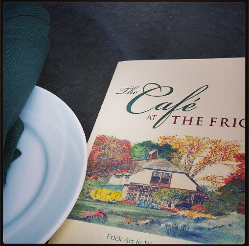 Frick Cafe pgh afternoon tea