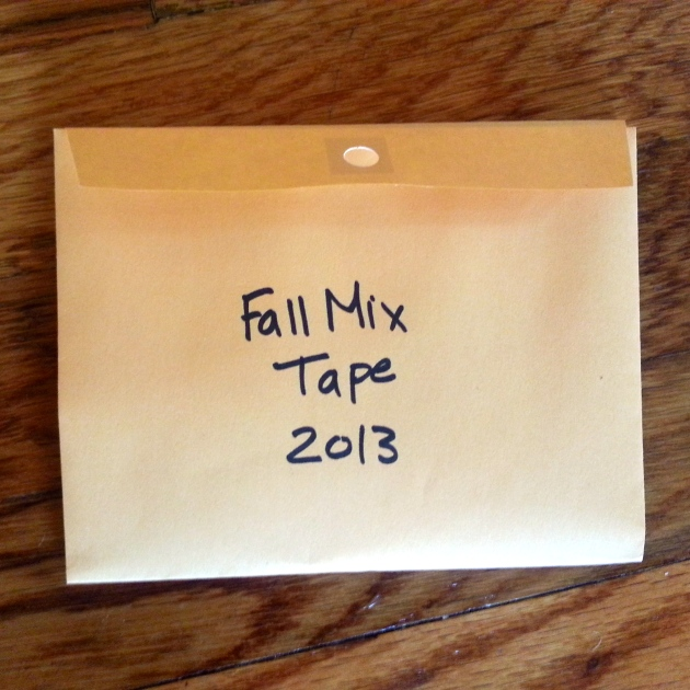 Fall Mix Tape Art #miaprimacasa