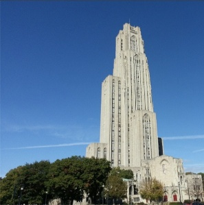 Cathedral of Learning pgh #miaprimacasa