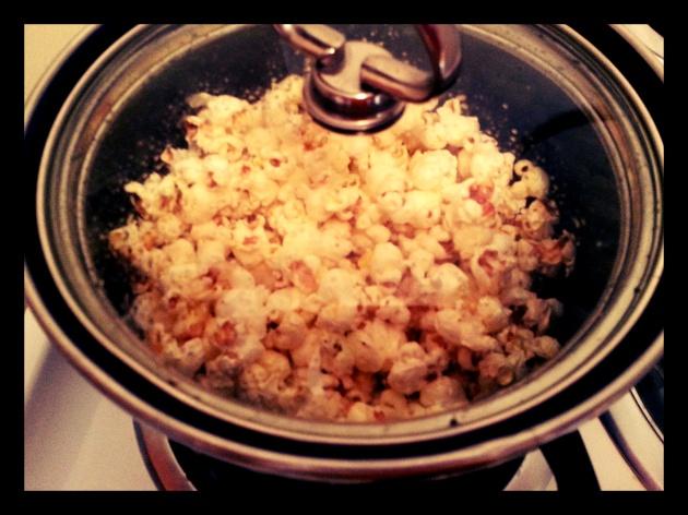 Easy Healthy Popcorn
