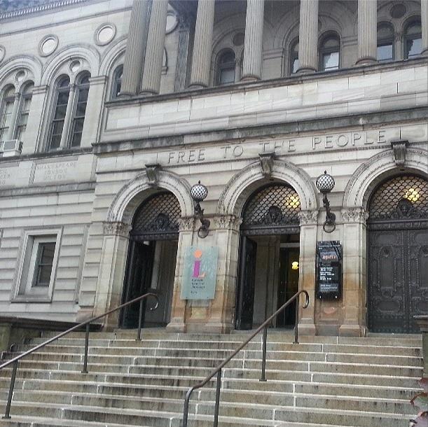 NaNoWriMo Carnegie Library