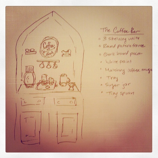 Coffee Bar Plans