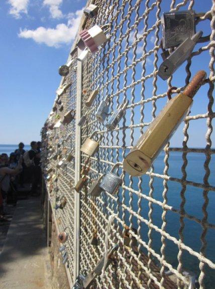 True Love Bridge Cinqueterre Italia miaprimacasa.com