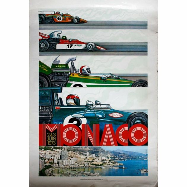 Grand Prix poster inspiration