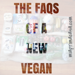 The FAQs of a New Vegan