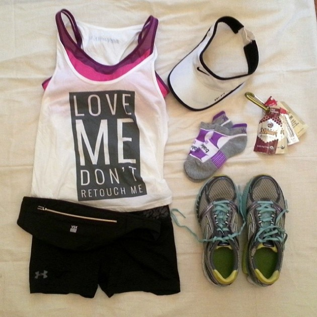 Keepin' it real for race day! #aerie #aeriereal #marathon #26.2 miaprimcasa.com