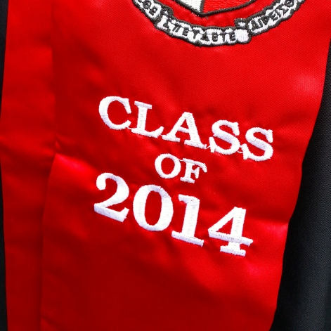 Congrats, Class of 2014!