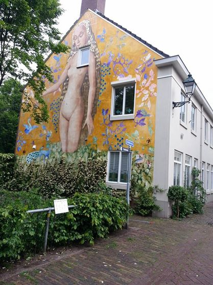 den bosch garden of earthly delights mural