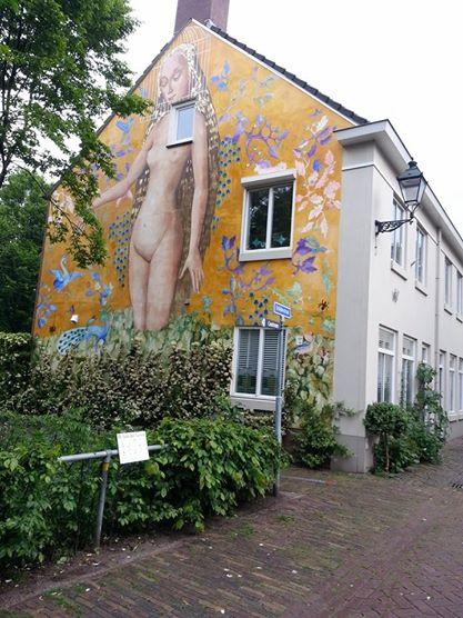 den bosch garden of earthly delights mural