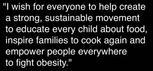 Power of Food: Jamie Oliver quotation