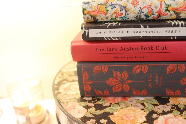 Jane Austen Reads + Hat Box