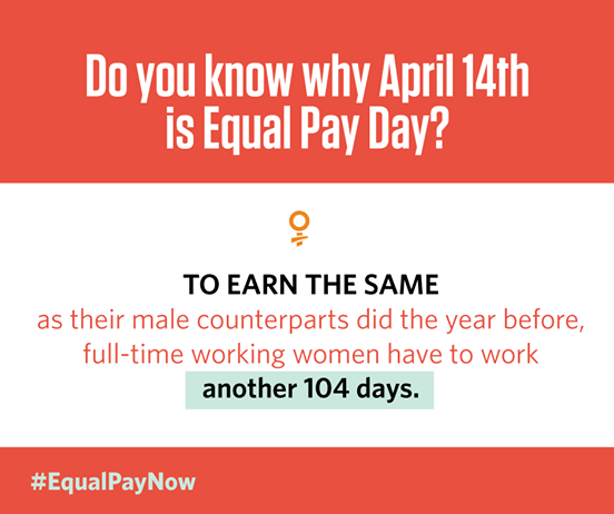 Equal Pay Day 2015 #100DaysofMiaPrima