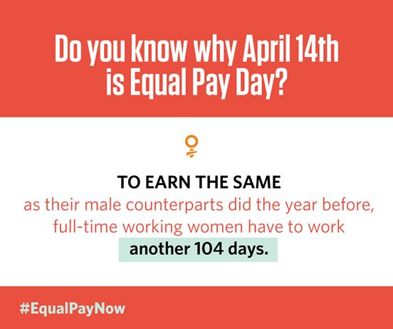 Equal Pay Day 2015 #100DaysofMiaPrima