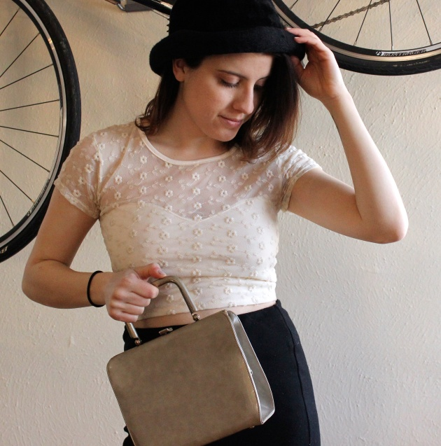 60s Patent Leather Purse