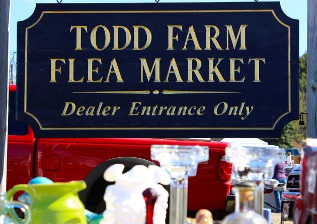 Todd Farm Flea Market Rowley, MA #100DaysofMiaPrima
