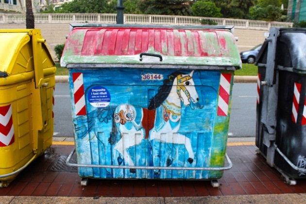 Garbage Genova, Italy #100DaysofMiaPrima