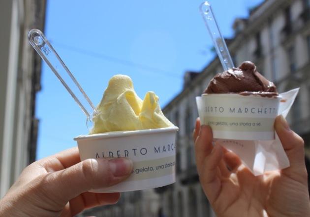 Gelato in Torino Italia #100DaysofMiaPrima