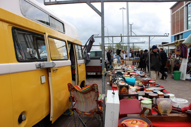 Amsterdam Flea Market #100DaysofMiaPrima