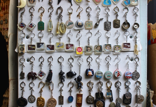 Vintage Key Chains from Paris Flea Market #100DaysofMiaPrima