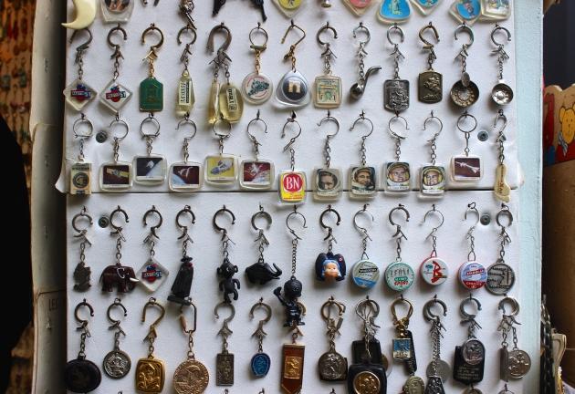 Vintage Key Chains from Paris Flea Market #100DaysofMiaPrima