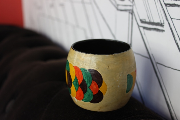 Vintage Cuff Bracelet from Paris Flea Market #100DaysofMiaPrima