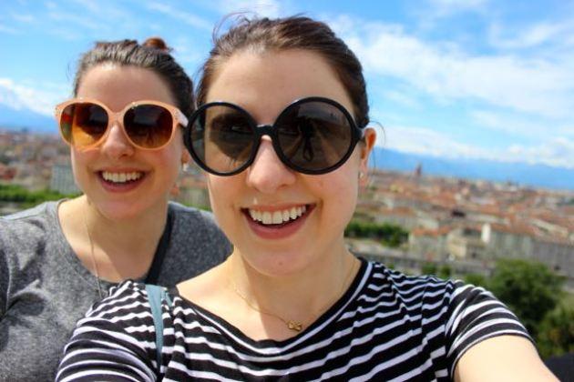 Selfie in Torino, Italia