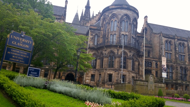 University of Glasgow #100daysofMiaPrima