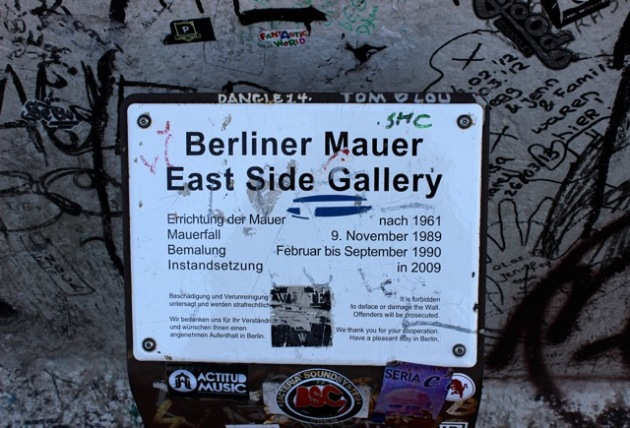 East Side Gallery Berlin Wall #100DaysofMiaPrima