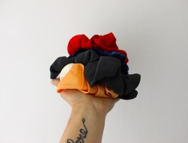 Gibbson Girl Vintage Scrunchies #100DaysofMiaPrima 3