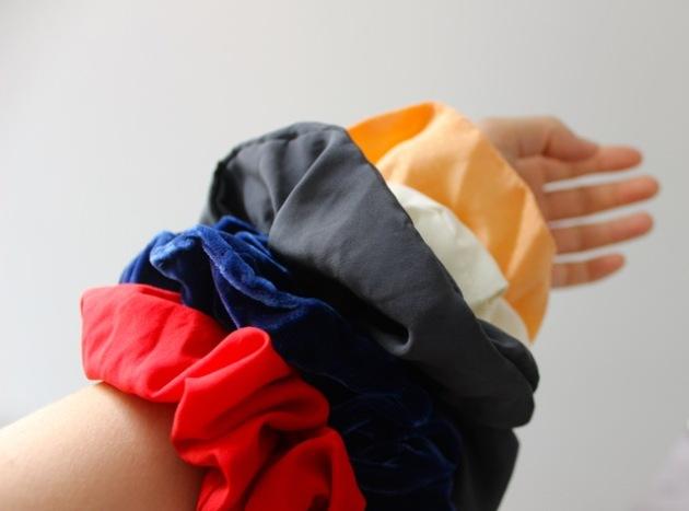 Gibbson Girl Vintage Scrunchies #100DaysofMiaPrima