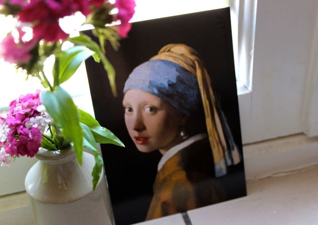 Girl with a Pearl Earring, Vermeer #100DaysofMiaPrima 1