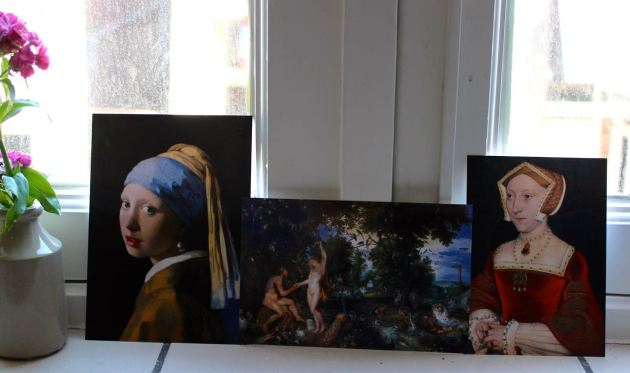 Girl With a Pearl Earring, Vermeer #100DaysofMiaPrima