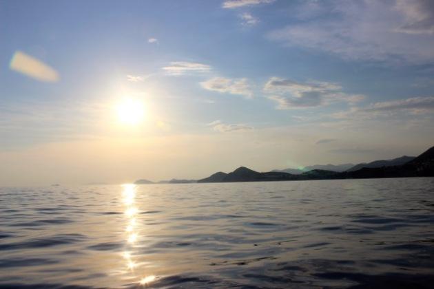 Swimming in Croatia #100DaysofMiaPrima 1