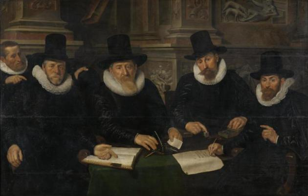 Dutch Guild Portrait, Hermitage Museum #100DaysofMiaPrima