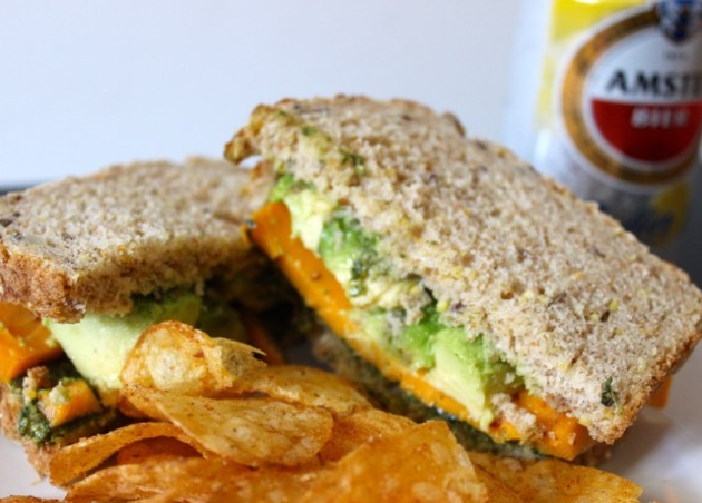 Dutch Cheese Sandwich w: Avocado #100DaysofMiaprima