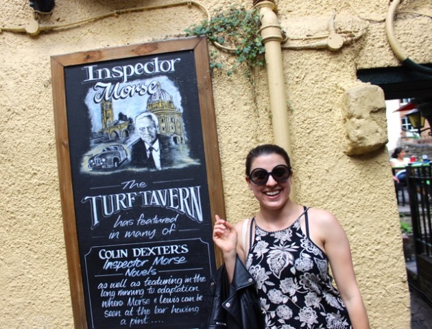 Inspector Morse Tour Oxford #100DaysofMiaPrima