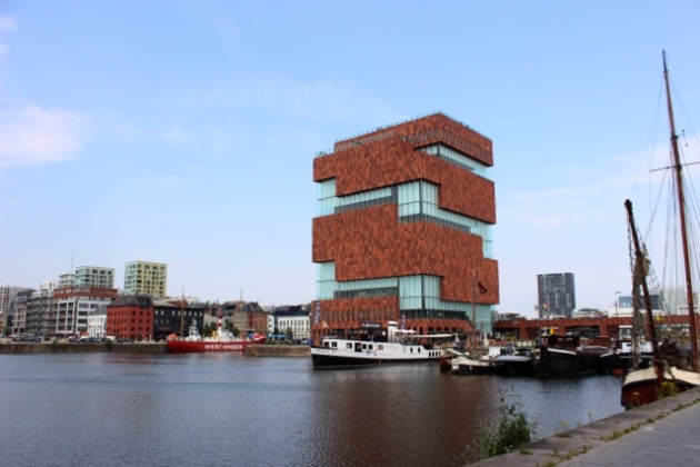 Mas Museum in Antwerp, Belgium #100DaysofMiaPrima