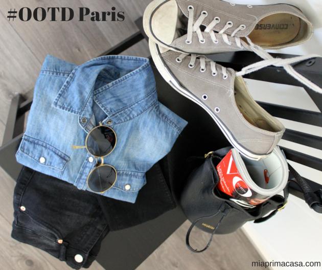 #OOTD Paris Outfit Parisienne Style #100DaysofMiaprima