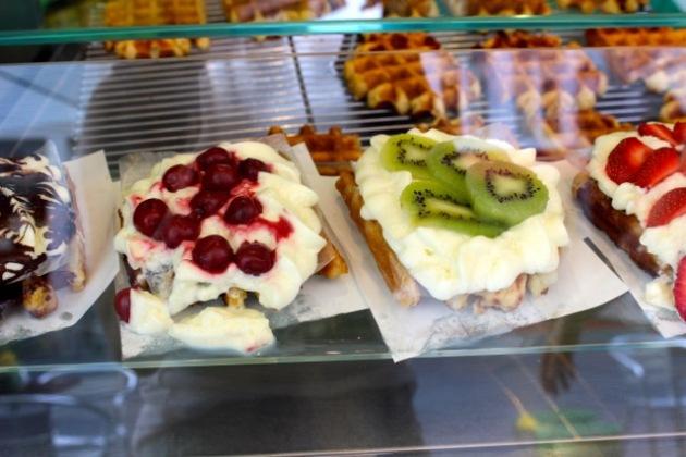 Waffles in Antwer, Belgium #100DaysofMiaPrima
